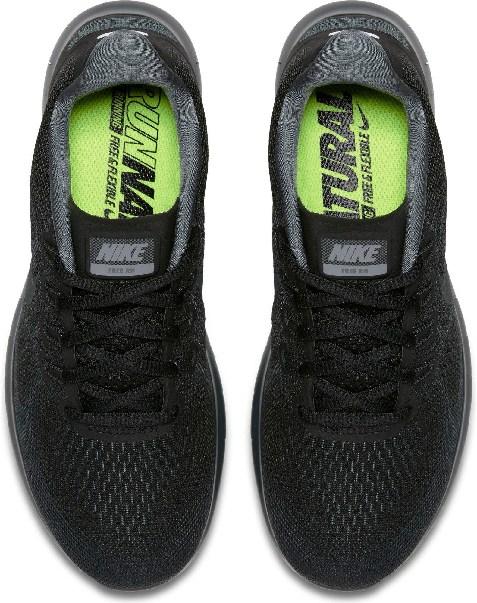 34d3e17e78a617 Nike Free RN 2017 Running Shoes Women black anthracite-dark grey-cool grey